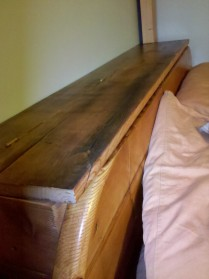 head board with storage